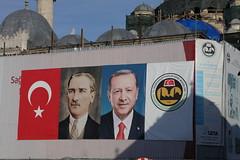 Recep Tayyip Erdoğan Electioneering (Ray Cunningham) Tags: istanbul turkey recep tayyip erdoğan electioneering