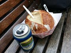 #FishermansWharf (Σταύρος) Tags: fisherm fishermanswharf sanfrancisco breadbowl clamchowder wharf beer napasmith yummy foodie sourdough
