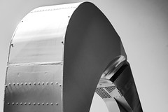 Curve (#Sasha) Tags: architecture canada bridges bc victoria white monochrome fuji black