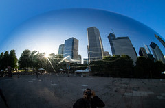 The Bean (*Aqualung) Tags: chicago thebean cloudgate bean em1 9mm bodycaplens bcl