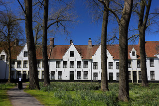 Begijnhuisje, Brugge, Belgium