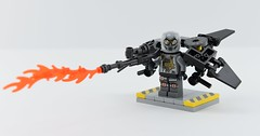 Dc minifigs #8 Ultimate Firefly🔥 (Alex THELEGOFAN) Tags: lego legography minifigure minifigures minifig minifigurine minifigs minifigurines video videogame villain villains batman jetpack black gray firefly arkham knight fire flame firebug bug dc comics super heroes