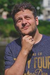 Landwehrkanal Portrait feat. @DerPoppe (DOKTOR WAUMIAU) Tags: ishootraw berlin fuji fujifilm fujigear fujilove fujix fujixt20 lightroom xf56mmf12 xt20 xf56mmf12r portrait quickshooting 5minuteportrait