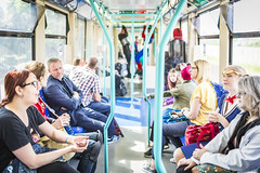 20180613_F0001: Just a normal day in the DLR (wfxue) Tags: mcmcomiccon londoncomiccon fictional character cosplay costume dlr train candid people portrait event london