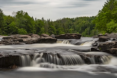 When the Weight Comes Down (Kevin Tataryn) Tags: nikon d500 1755 longexposure rapids water river flow rivere rouge grenville quebec canada landscape