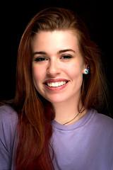 Happy Smile (ClintHeeeerod) Tags: girl pretty smile portrait woman female teeth purple hair blueeyes natural beauty headshot nikon 85mmf18d speedlite speedlight yongnuo560iii tx560ii