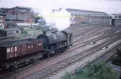 Tyne Dock shed NCB with coal from Boldon to Westoe 15aug61 s429 (Ernies Railway Archive) Tags: ner lner durhamrailways tynedockshed ncb