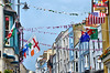 Sunny seaside days (CJS*64) Tags: tenby wales southwales pembrokeshire seaside colour colours dslr d7000 nikon nikkorlens nikond7000 24mm85mmlens urban festival celebrate celebration flags bunting hotels architecture