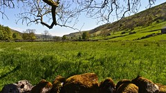 Dales Way (_J @BRX) Tags: starbotton yorkshiredales dales valley river riverwharfe ushapedvalley geology wharfedale craven kettlewell yorkshire england uk spring may 2018 hills sky green blue nikon d5100 sunshine walk