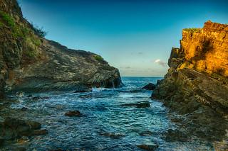 The Morning Light Rocks