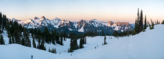 Tatoosh sunrise (Laura Jacobsen) Tags: mountains mtrainier mtrainiernationalpark nationalparks rainier snow washington