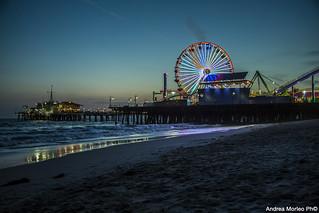 Sunset, Santa Monica Los Angeles