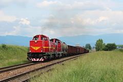 T466 0253 (MarSt44) Tags: t466 t4660253 0253 kolej słowacja dzień dziecka zelaźnica pre deti 2018 ćsd train railway diesel power slovakia slovak republic turcianske teplice pielstyk