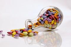 Spilled (johnsinclair8888) Tags: candy macromonday nikon art color reflection johndavis d750 glass macro sliderssunday