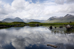 Rannoch Moor view (andrewmckie) Tags: theblackmount blackmount rannochmoor lochan water reflections highlands scenery scottishscenery scottish scotland outdoor