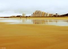Sand Castle (Melanie Gregory) Tags: vendée beach beacheslandscapes architecture france vendee travelphotography travel reflection