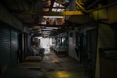 昭和マーケット #2 (kasa51) Tags: shoppingstreet alley roof dim kawasaki japan 昭和マーケット