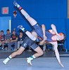 Columbia v Bucknell (Leo Tard1) Tags: canon eos 5d iv usa ny nyc wrestling collegewrestling wrestle wrestler male singlet indoor sport sportfight athletic athlete leotard dual 2018 columbiauniversity lions bucknelluniversity bisons 149lb jacobmacalolooy sethhogue