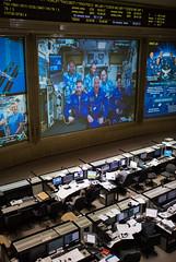 Expedition 56 Soyuz Docking (NHQ201806080011) (NASA HQ PHOTO) Tags: esaeuropeanspaceagency expedition56 roscosmos drewfeustel russia internationalspacestationiss missioncontrolcentermoscowtsup alexandergerst serenaauñónchancellor korolev sergeyprokopyev rickyarnold olegartemyev soyuzms09 tsup rus nasa joelkowsky
