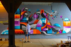 Eelco Virus (drew*in*chicago) Tags: eelcovirus chicago 2018 iameelco westtown mural tag street art artist