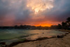 Sunset at Playa (miguenfected) Tags: playa del carmen mexico miguenfected sunset beach quintana roo