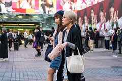 Party Of Two, Everyone's Invited (burnt dirt) Tags: asian japan tokyo shibuya station streetphotography documentary candid portrait fujifilm xt1 laugh smile cute sexy latina young girl woman japanese korean thai dress skirt shorts jeans jacket leather pants boots heels stilettos bra stockings tights yogapants leggings couple lovers friends longhair shorthair ponytail cellphone glasses sunglasses blonde brunette redhead tattoo model train bus busstation metro city town downtown sidewalk pretty beautiful selfie fashion pregnant sweater people person costume cosplay bag hat furry denim black