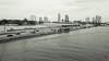 Port de Miami en noir et blanc, USA - 5545 (rivai56) Tags: miamibeach florida étatsunis us port de miami en noir et blanc black white noiretblanc sony