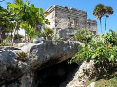 Casa del Cenote (zoniedude1) Tags: mexico tulum ruins cenote casadelcenote yucatan tulumarchaeologicalsite mayanstructure mayanriviera archaeology zonaarqueológicadetulum ancestralnativeamericans bonita tropical mayancity ¡méxicohermoso coastalyucatan quintanaroo mayanruin beautiful exotic adventure travel history nature canonpowershotg12 pspx9 zoniedude1