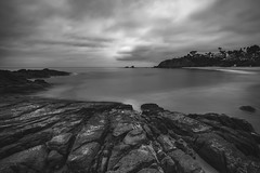 Crescent Bay BW (RyanLunaPhotography) Tags: