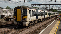 379023 (JOHN BRACE) Tags: 2010 bombardier built electrostar class 379 emu 379023 seen hackney downs station abellio greater anglia stansted express livery