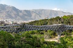 Nature Bridge and Parks, Tehran (Ninara) Tags: tehran iran tabiat tabiatbridge naturebridge taleghanipark aboatashpark modarresexpressway