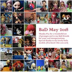 BaD 31 May 2018 (jefalump) Tags: blytheaday mosaic thankyou people