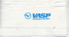 VASP Guardanapo personalizado ano 1995 (Portifólio da Aviação) Tags: xingu embraer vulcan avro volvo a300