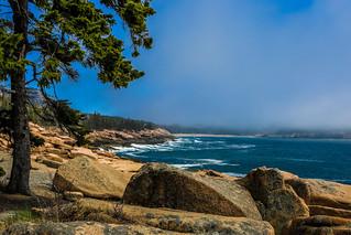 maine 18 foggy sand beach