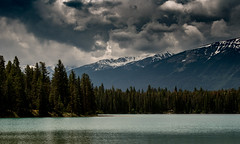 Canadian lake (rutgerdhoe) Tags: canada bc british columbia britishcolumbia nature moody moodypictures moodyphoto clouds landscape nikon nikond5500 d5500 lake water