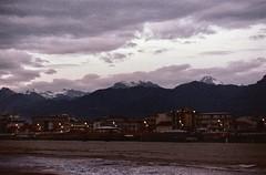 Il mare e la neve (michele.palombi) Tags: versilia tuscany winter film 35mm fujifilm 1600asa sunset colortec nikon f90