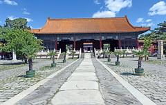 China: millenarian culture and impressive dynamism (photoriel) Tags: china beijing pékin building urban architecture sculpture spring forbiddencity skytemple worldtrekker