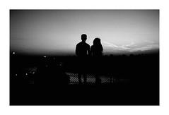 Kalemegdan Fortress (Jerry501) Tags: m6 leica film bnw analog blackandwhite kalemegdan kalemegdanfortress belgrade serbia travel sunset sundown silhouette kodak trix landscape