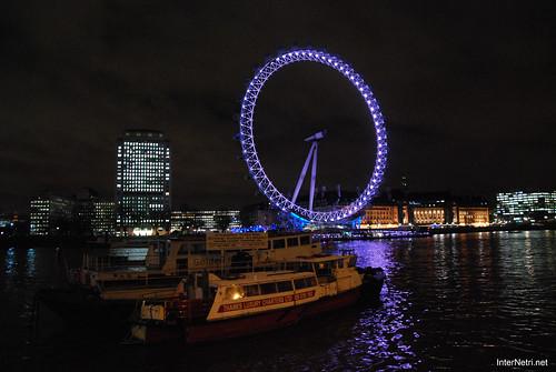Око Лондона вночі InterNetri United Kingdom 0435