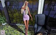 A Lovely Little Lavender Dress (SherriOhCherri) Tags: lx phedora ramasalon blush catwa maitreya lavender zibska secondlifefashion seondlifeblog
