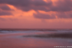 Morning Colours (David J. Greer) Tags: margo pinkerton north carolina outer banks dawn seashore ocean atlantic clouds abstract sunrise obscured shoreline photo workshop visit tourist