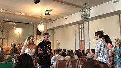 """Lauren and Bradley Leave the Church • <a style=""""font-size:0.8em;"""" href=""""http://www.flickr.com/photos/109120354@N07/41714555074/"""" target=""""_blank"""">View on Flickr</a>"""