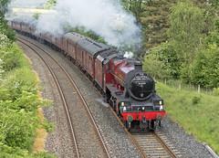 45699 Gisburn 29-05-18 (prof@worthvalley) Tags: all types transport steam locomotive railway railroad uk 45699 galatea