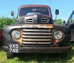 Ford Pick Up Truck. (christianiani) Tags: front closeup bumper headlight bonnet hood ford truck pickup sweetride vintage lefthanddrive original