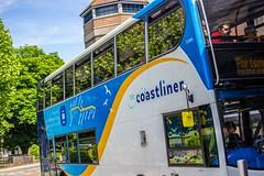 Close up Coastliner (mangopearuk) Tags: uk unitedkingdom england hampshire bus buses publictransport transit stagecoach stagecoachsouth stagecoachinthesouthdowns stagecoachhampshire portsmouth southsea havant adl alexanderdennis