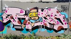 'Roma'... (colourourcity) Tags: streetartaustralia streetartnow streetart graffiti melbourne colourourcity colorourcity awesome original melbournestreetart melbournegraffiti burncity burner letters roma dbr
