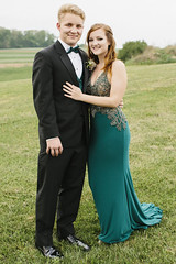 Veronica & Shane [05.12.18] (Andrew H Wagner | AHWagner Photo) Tags: 5dmk3 5d3 5dmkiii 5dmarkiii 5dmark3 canon eos 50l 50mm f12 f12l bokeh dof prom mvhs maryland carrollcounty highschool couple portrait people person dress suit tux