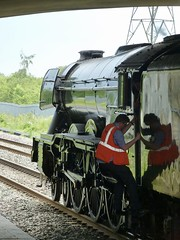 Flying Scotsman at Oxford Parkway. (The Guitarsmith) Tags: 60103 4472 flyingscotsman cathedrals express oxford