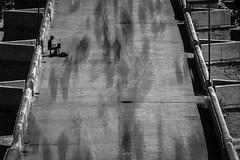 The pianist solitude. Part 1. (Andrés Gallego) Tags: nikon d750 valencia valence bw blancoynegro long longexposure piano pianist solitude soledad crowd people tamron 2470 2470mm spain creative