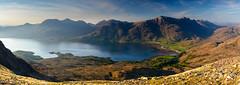 Loch Torridon, Beinn Alligin, Beinn Dearg and Liathach (Joe Hayhurst) Tags: 2018 highlands joehayhurst landscape may nikon scotland summer torridon beinnalign beinndear liathach